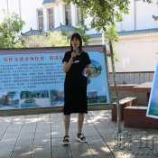 县创建办检查验收化念镇民族团结进步示范点创建工作
